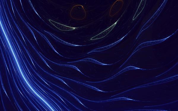 space-line-curve-blue-pattern-dark